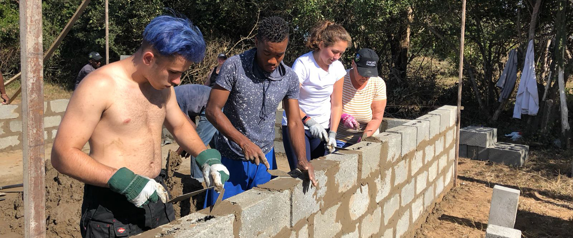 Help young orphans like Xolani live a self-sufficient life